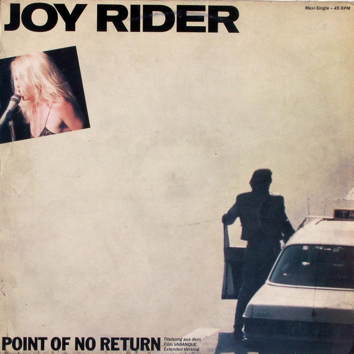 "Joy Rider - Point Of No Return [12"" Maxi] 0"