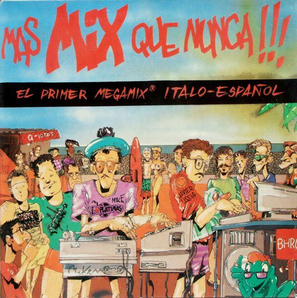 Various - Mas Mix Que Nunca [LP]