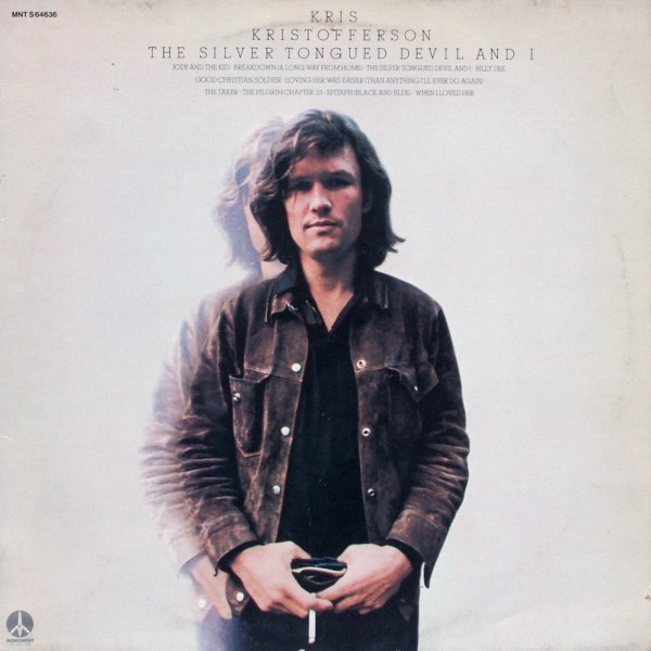 Kristofferson, Kris - The Silver Tongued Devil And I [LP]