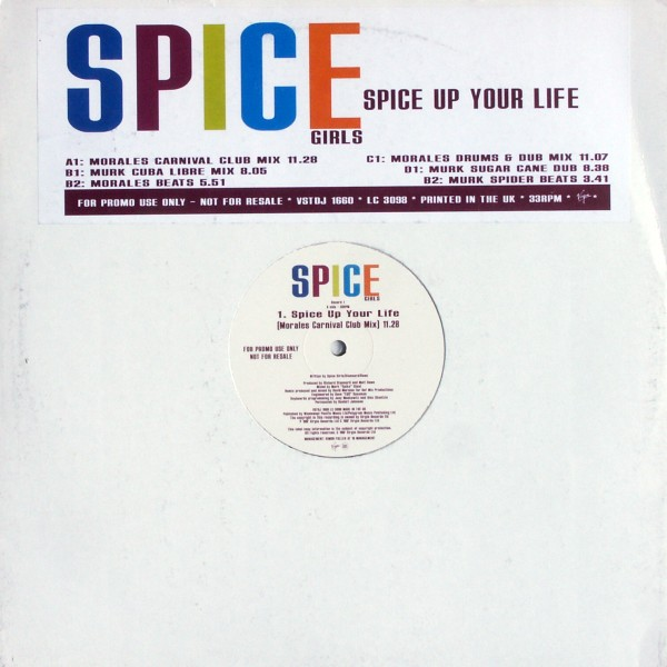 "Spice Girls - Spice Up Your Life 2x12"" Promo [12"" Maxi]"