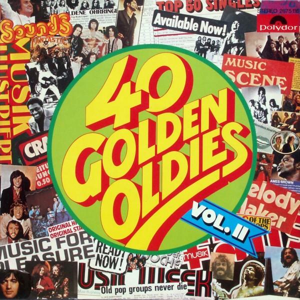 Various - 40 Golden Oldies Vol. II [LP]