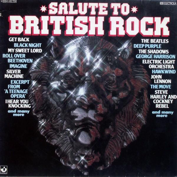 Various - Salute To British Rock [LP]
