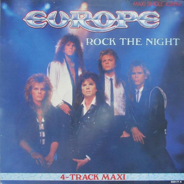 """Europe - Rock The Night [12"""" Maxi]"""