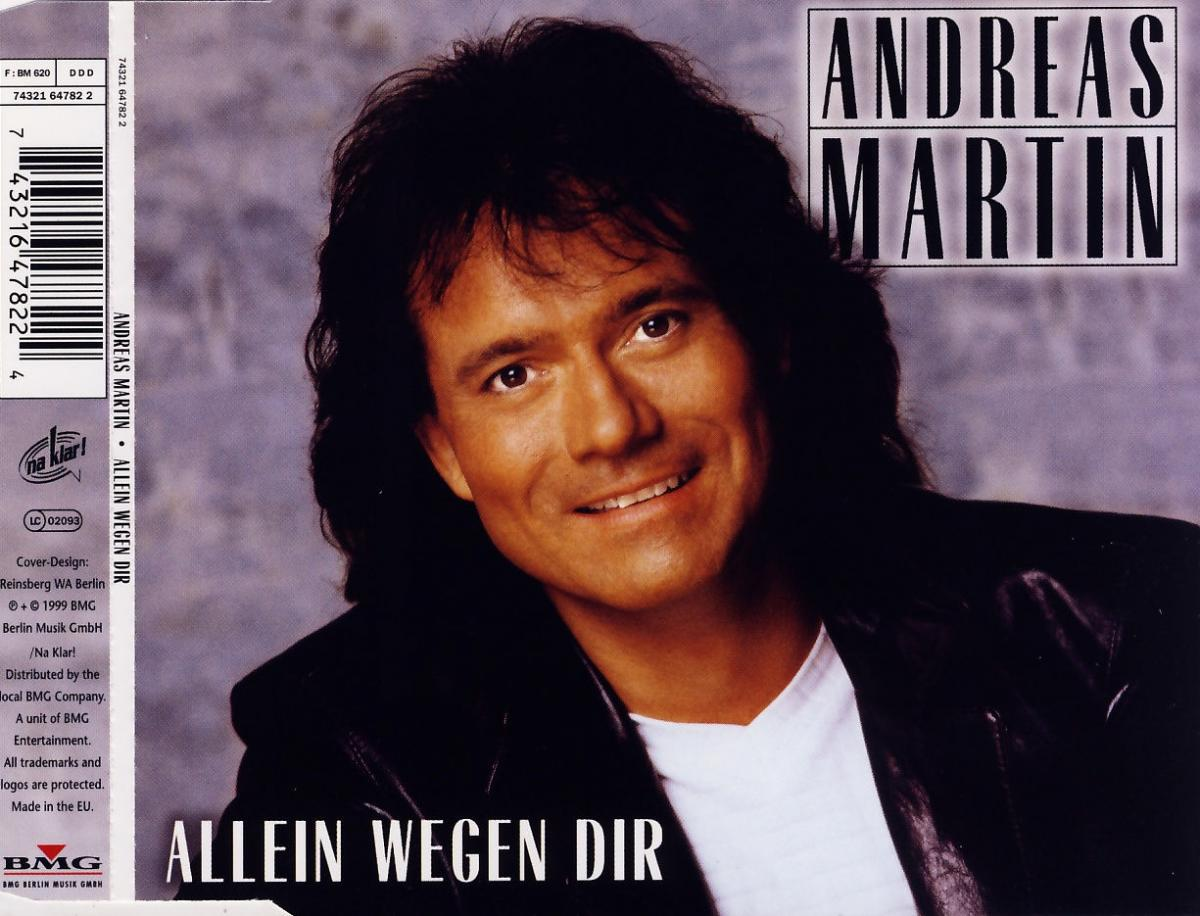 Martin, Andreas - Allein Wegen Dir [CD-Single]