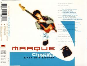 Marque - Charlie's Letter [CD-Single]