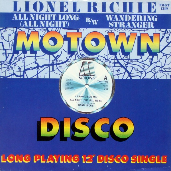 "Richie, Lionel - All Night Long (All Night) [12"" Maxi]"