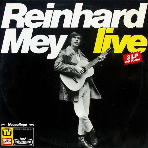 Mey, Reinhard - Reinhard Mey Live [LP]