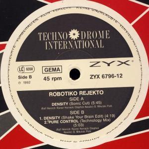 "Robotiko Rejekto - Density [12"" Maxi]"