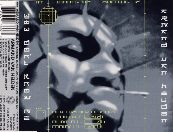 Van Helden, Armand - You Don't Know Me (feat. Duane Harden) [CD-Single]
