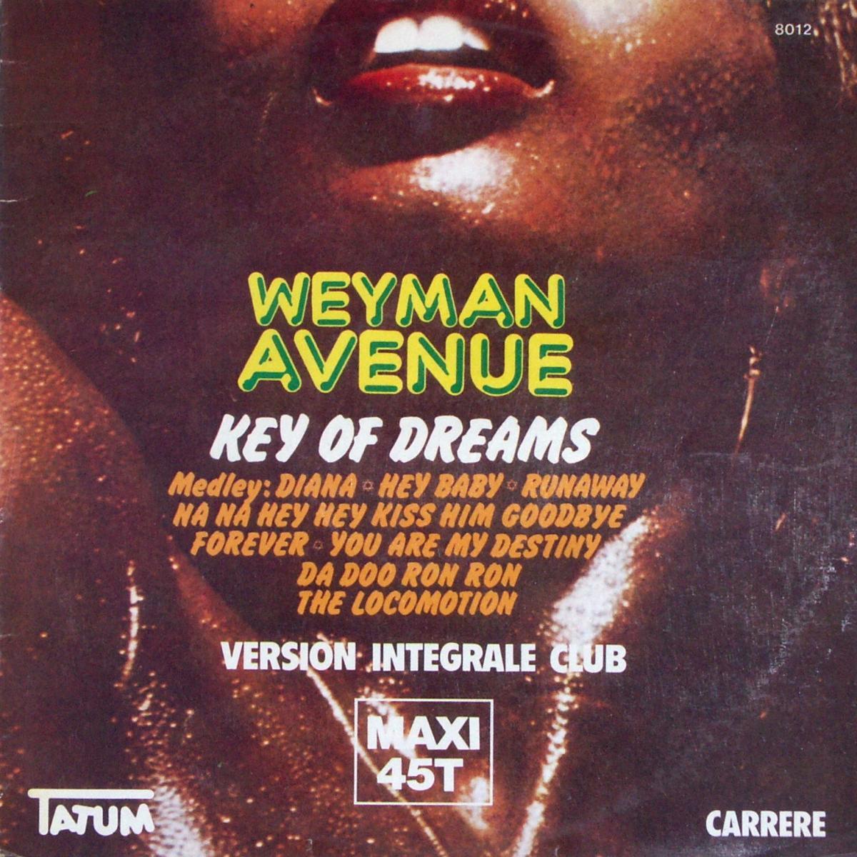 """Weyman Avenue - Key Of Dream [12"""" Maxi]"""