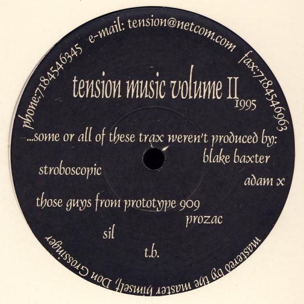 "Various - Tension Music Volume II [12"" Maxi]"