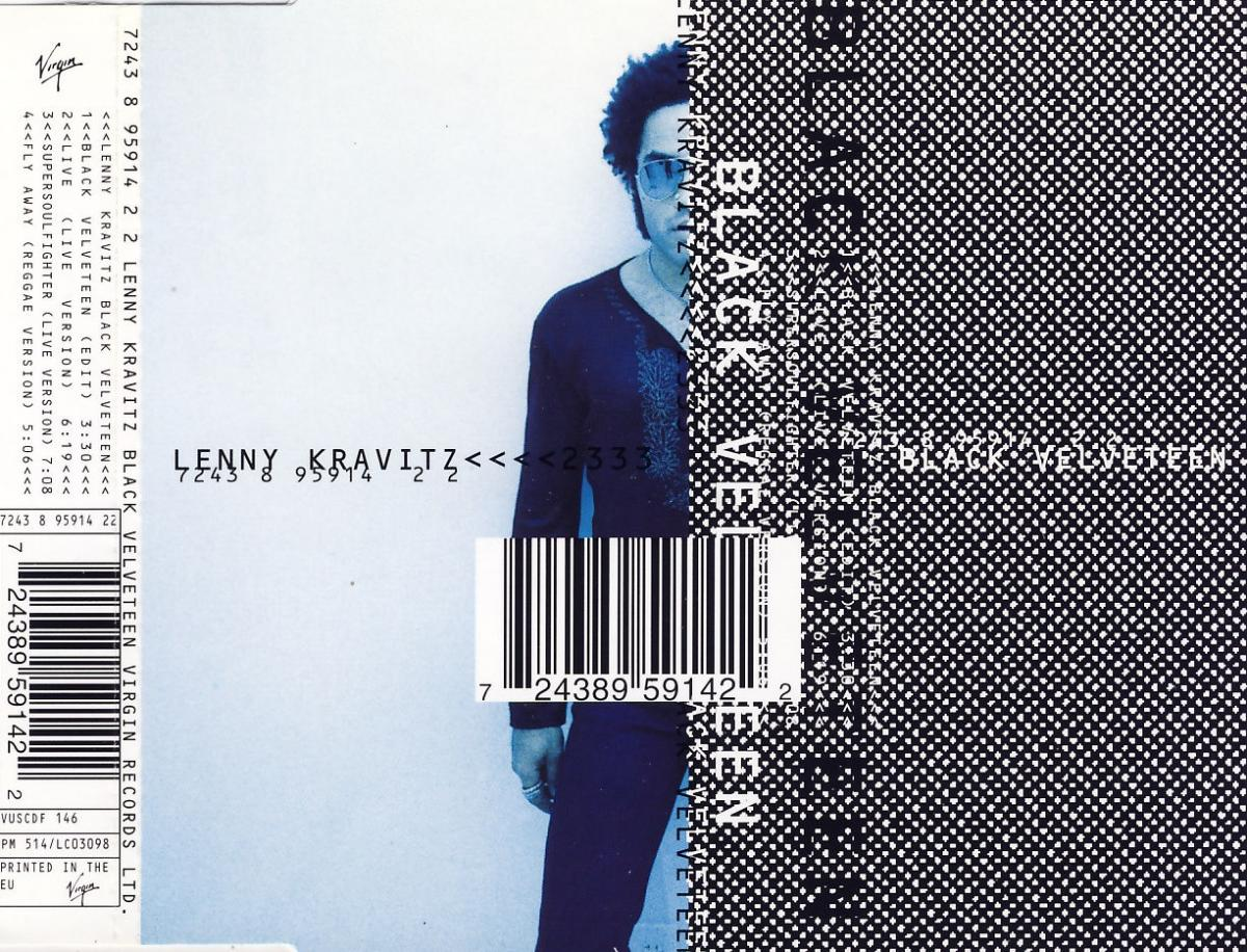 Kravitz, Lenny - Black Velveteen [CD-Single]
