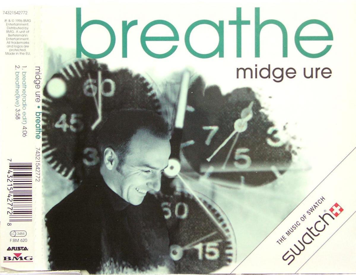 Ure, Midge - Breathe [CD-Single]