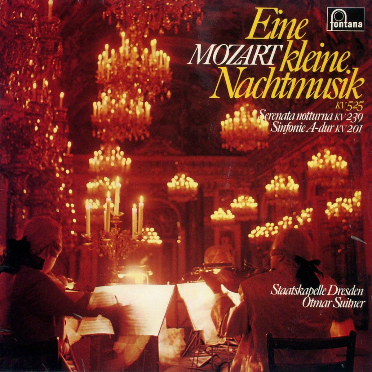 Mozart - Eine Kleine Nachtmusik KV 525 / Serenata Notturna KV 239 / Sinfonie A-Dur [LP]