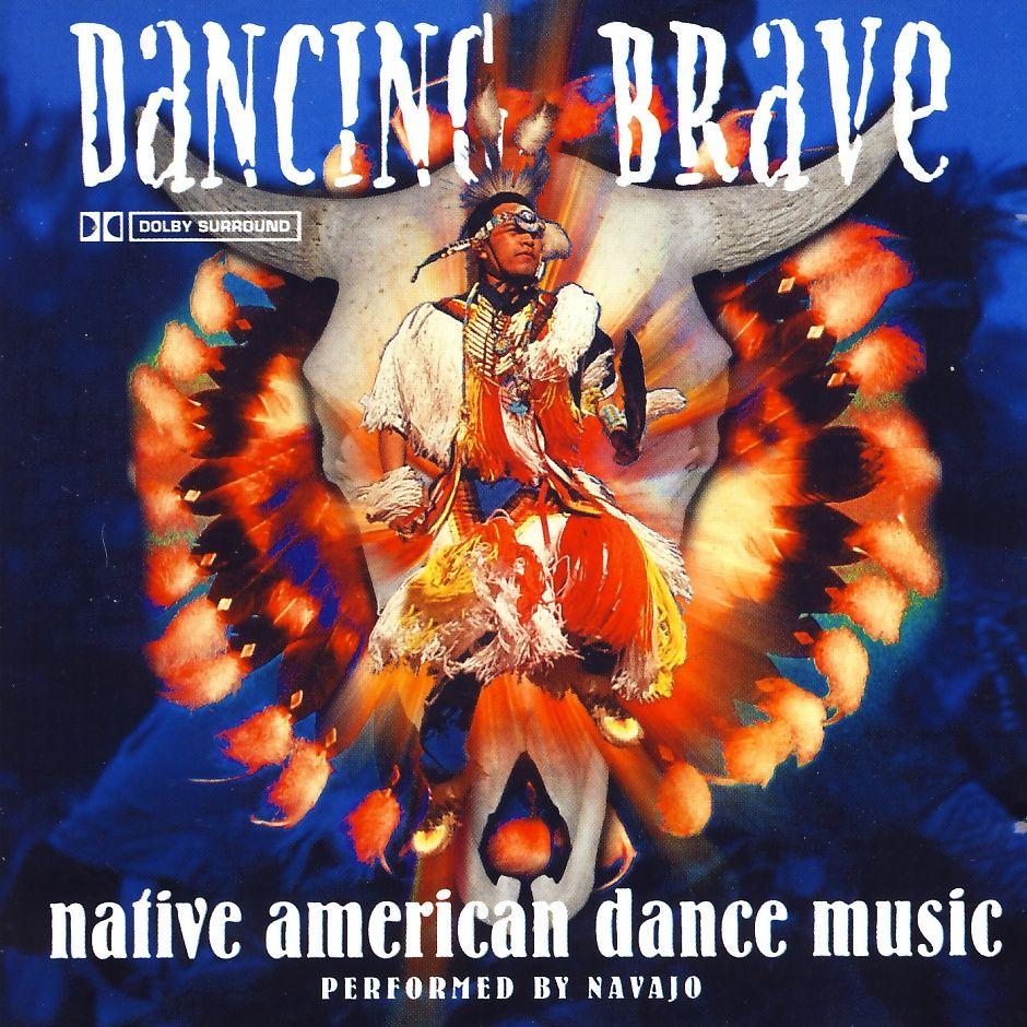 Navajo - Dancing Brave - Native American Dance Music [CD]