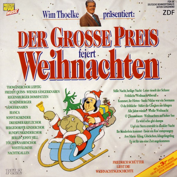 Various - Der Grosse Preis Feiert Weihnachten [CD]