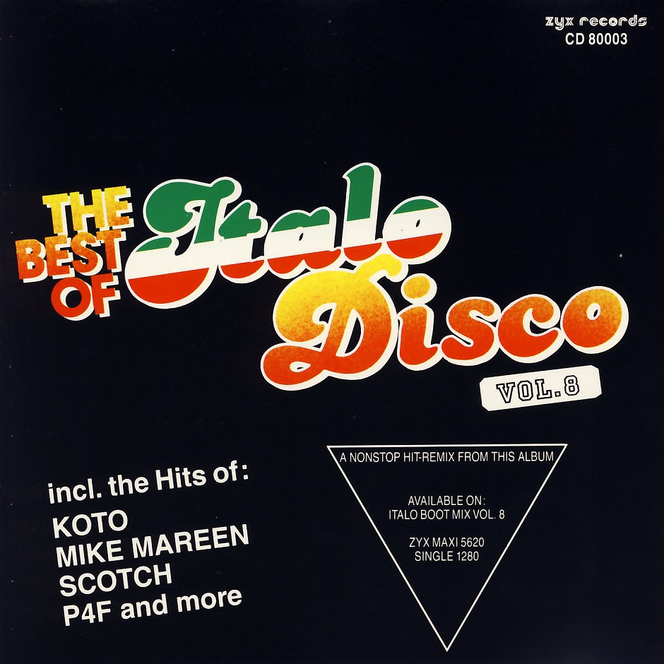 Various - The Best Of Italo Disco Vol. 8 [CD]