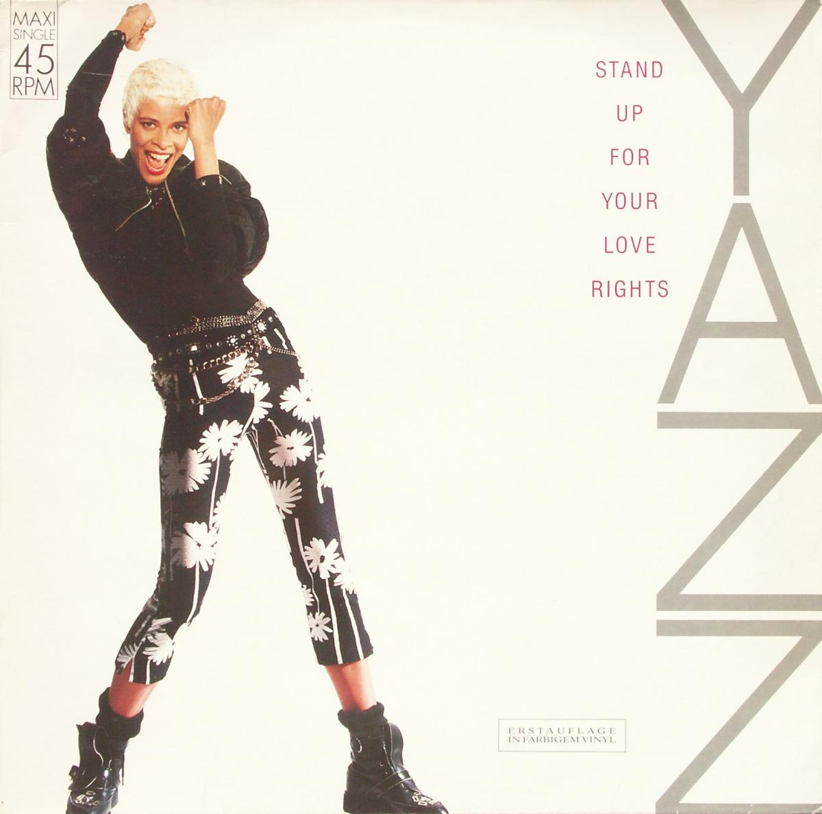 "Yazz - Stand Up For Your Love Rights [12"" Maxi]"