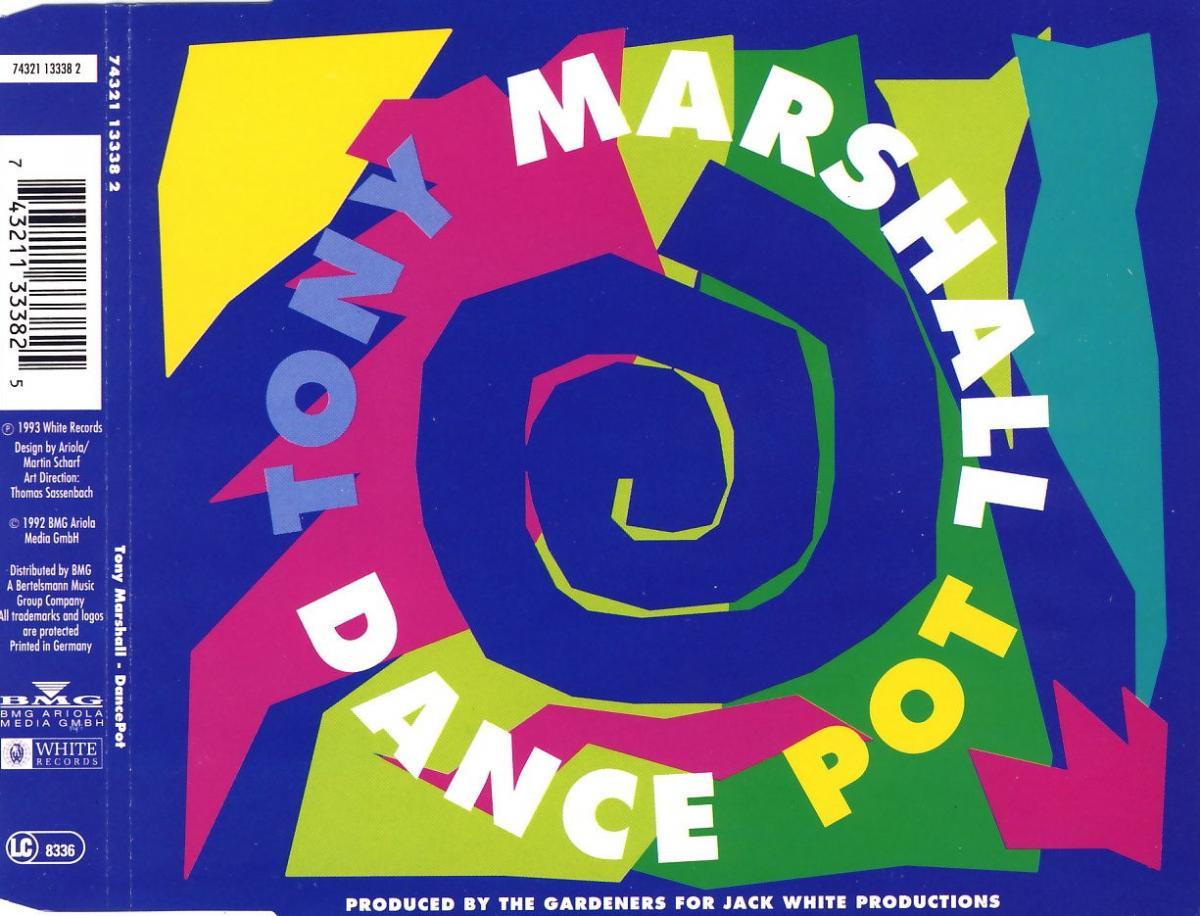 Marshall, Tony - Dance Pot [CD-Single]