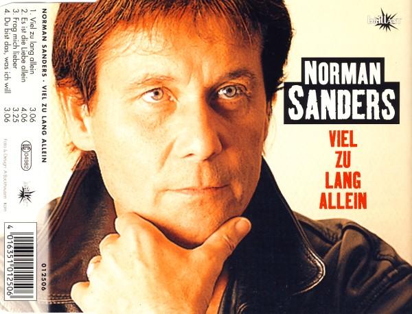 Sanders, Norman - Viel Zu Lang Allein [CD-Single]