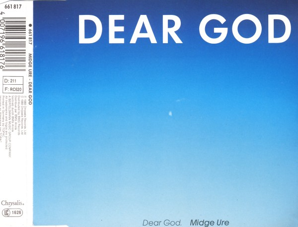 Ure, Midge - Dear God [CD-Single]