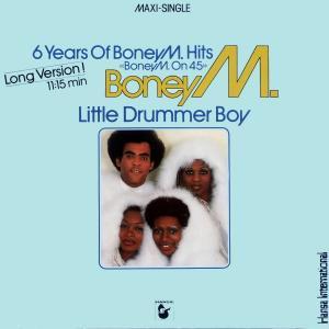 "Boney M. - 6 Years Of Boney M. Hits - Boney M On 45 / Little Durmmer Boy [12"" Maxi]"