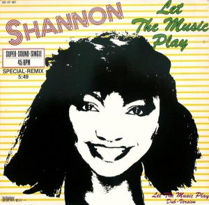 """Shannon - Let The Music Play [12"""" Maxi]"""