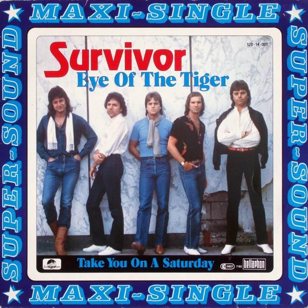 """Survivor - Eye Of The Tiger [12"""" Maxi]"""