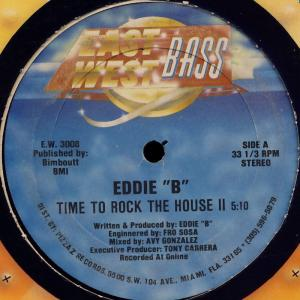 "Eddie B - Time To Rock The House II [12"" Maxi]"