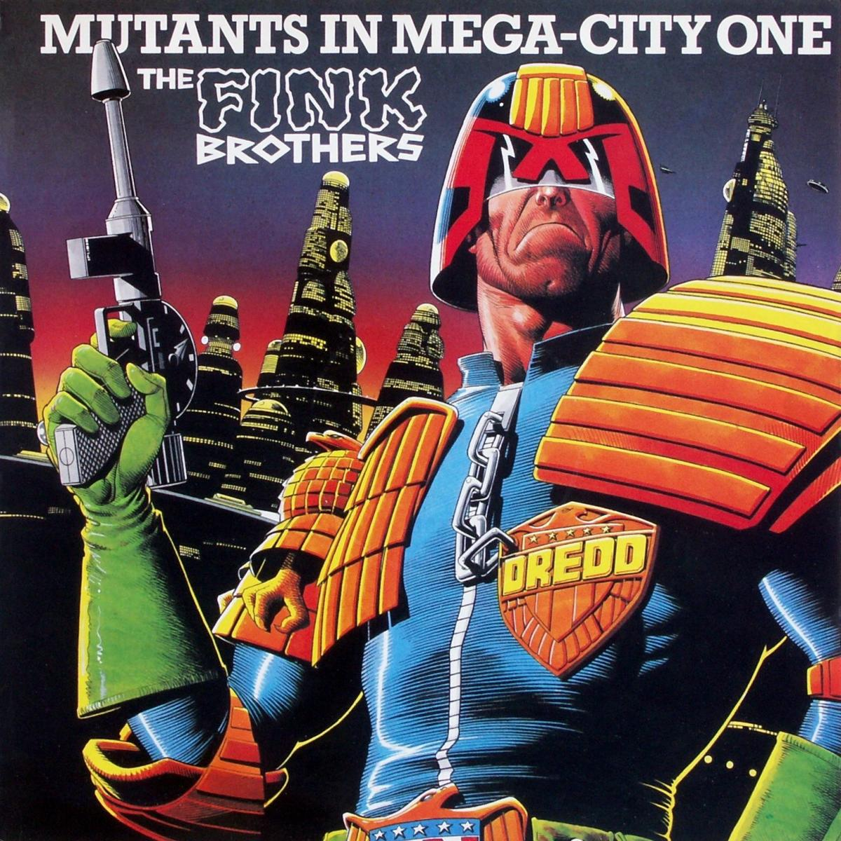 """Fink Brothers - Mutants In Mega-City One [12"""" Maxi]"""