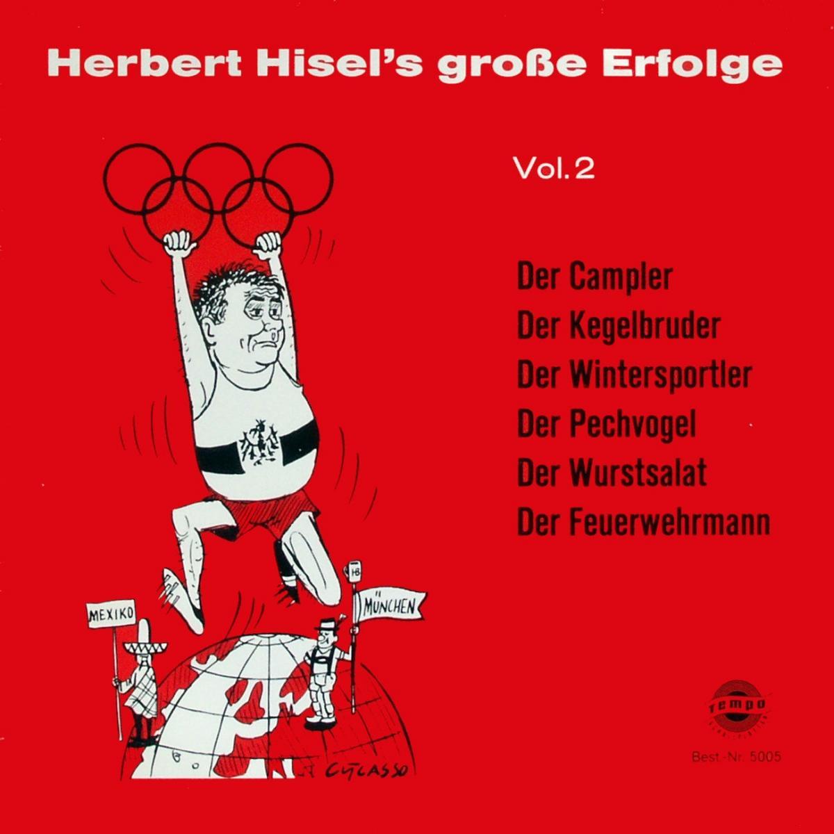 Hisel, Herbert - Herbert Hisel's Große Erfolge Vol. 2 [LP]