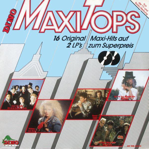 Various - Dino Maxi Tops 16 Original Maxi Hits [LP]