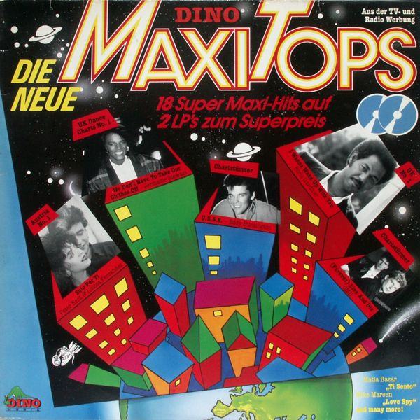 Various - Dino Maxi Tops Die Neue 18 Super Maxi-Hits [LP]