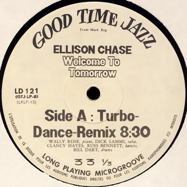 """Information Society / Ellison Chase - Running / Welcome To Tomorrow [12"""" Maxi]"""
