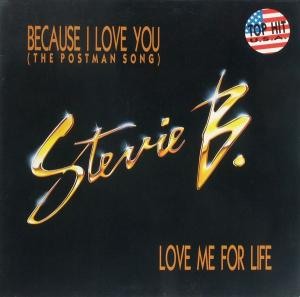 """Stevie B. - Because I Love You (The Postman Song) [12"""" Maxi]"""