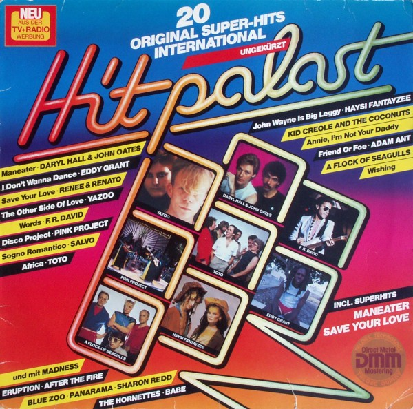 Various - Hit-Palast Hitpalast - 20 Original Super-Hits International [LP]