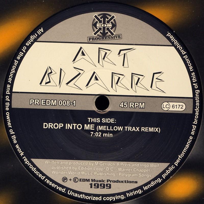 """Art Bizarre - Drop Into Me [12"""" Maxi]"""
