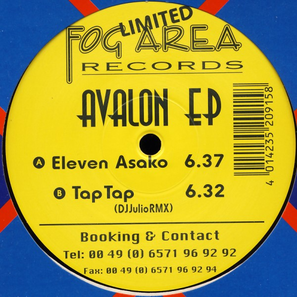 "Avalon - Avalon EP (Eleven Asako) [12"" Maxi]"