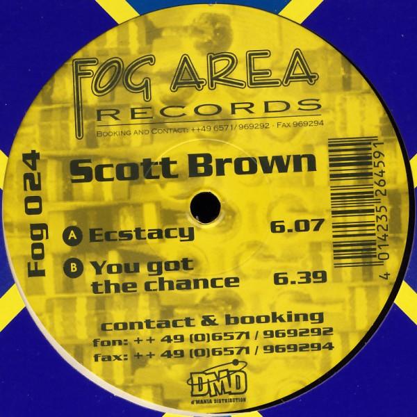 "Brown, Scott - Ecstacy / You Got The Chance [12"" Maxi]"