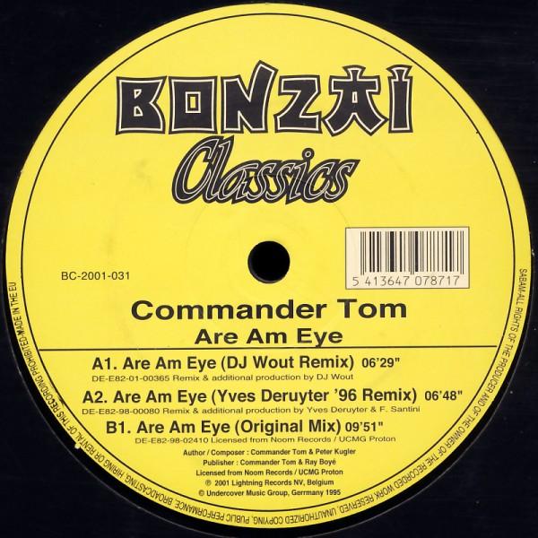 "Commander Tom - Are Am Eye [12"" Maxi]"