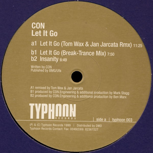 """Con - Let It Go [12"""" Maxi]"""