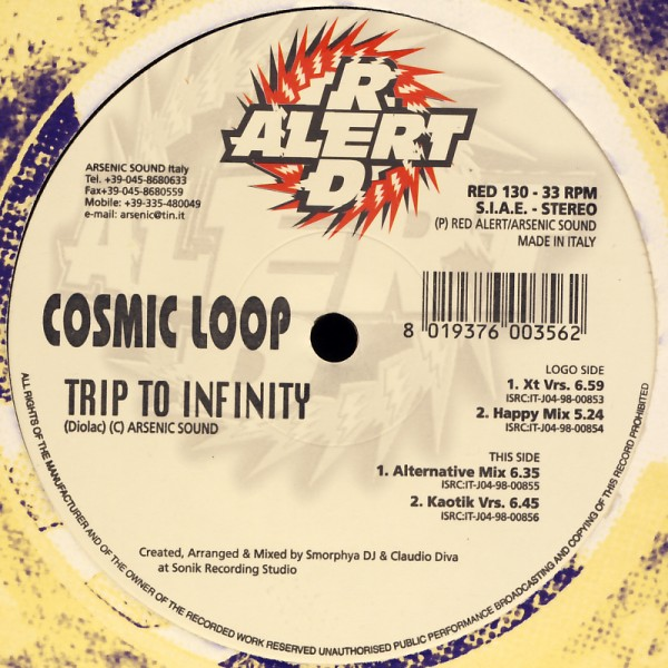 """Cosmic Loop - Trip To Infinity [12"""" Maxi]"""