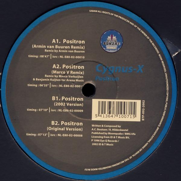 "Cygnus X - Positron [12"" Maxi]"