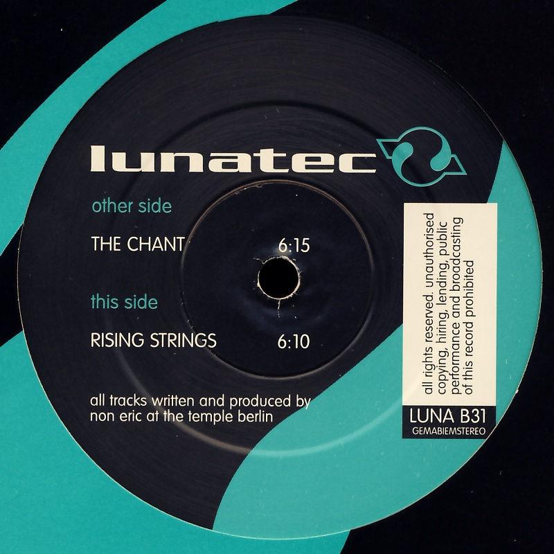 "Dee Rex - The Chant [12"" Maxi]"