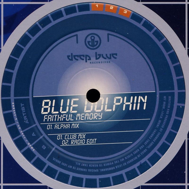 """Deep Dolphin - Faithful Memory [12"""" Maxi]"""