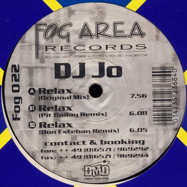 """DJ Jo - Relax [12"""" Maxi]"""
