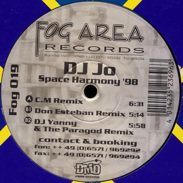 """DJ Jo - Space Harmony '98 [12"""" Maxi]"""