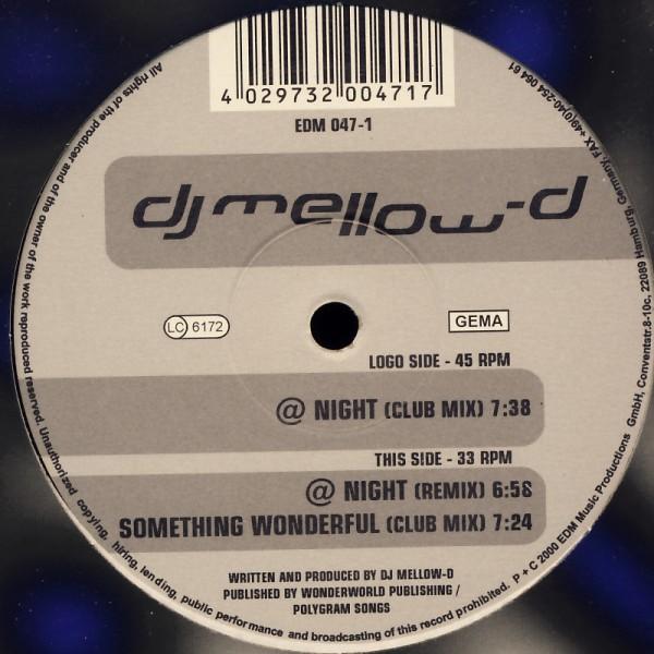 """DJ Mellow-D - @ Night [12"""" Maxi]"""