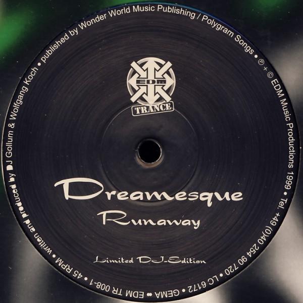 """Dreamesque - Runaway [12"""" Maxi]"""