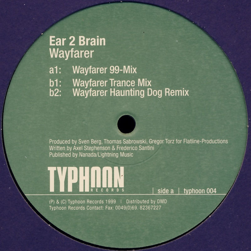 "Ear 2 Brain - Wayfarer [12"" Maxi]"